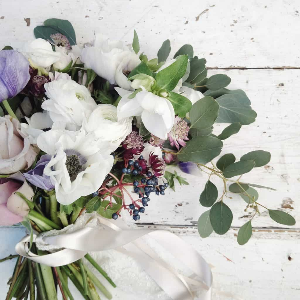 Stunning Winter into Spring wedding flower inspiration from my flower shed in Bristol uk - If you are planning your Febuary or March wedding there are some wonderful ideas and advice for you here