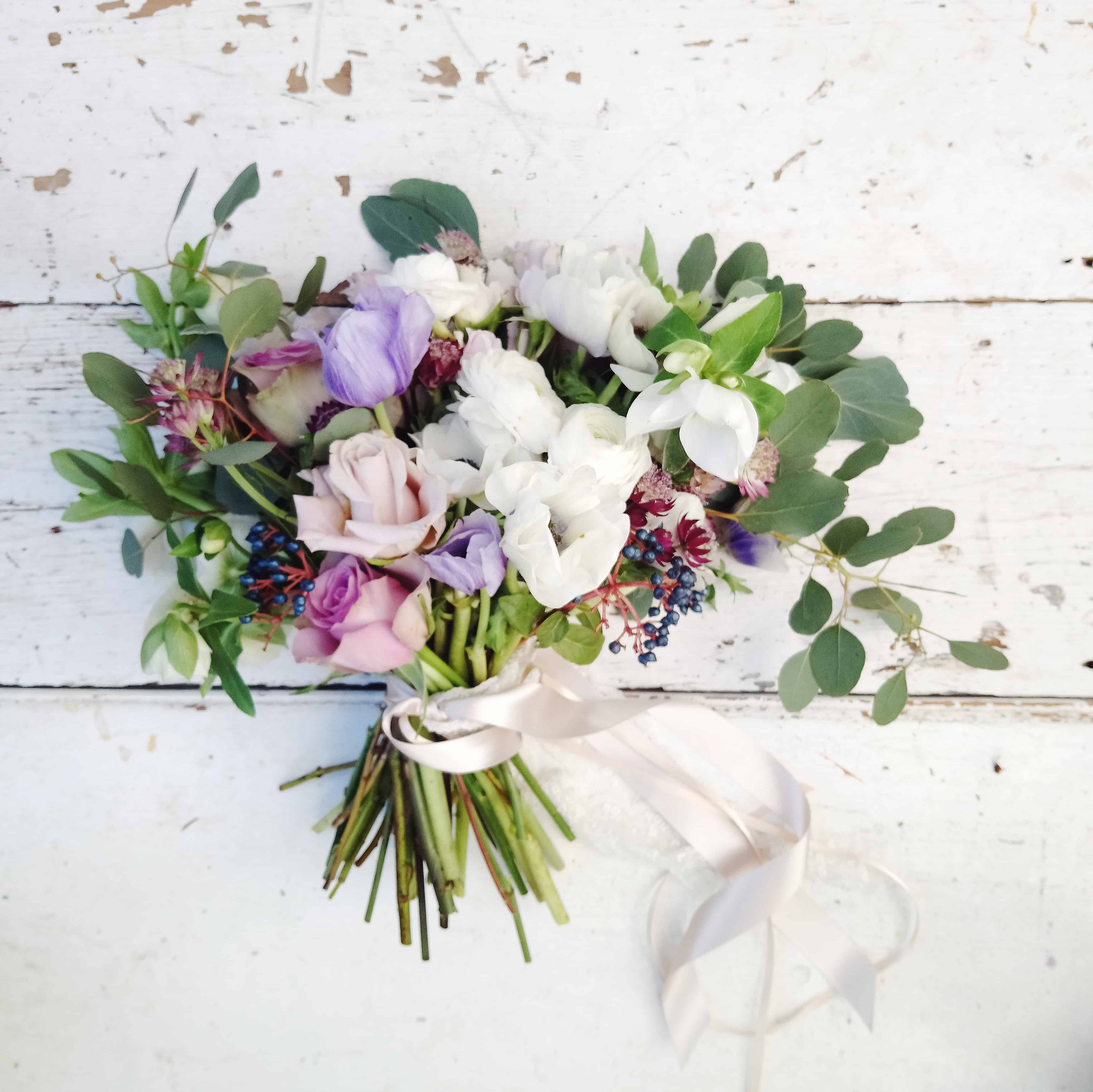 Wedding Flower Inspiration Stunning Winter Into Spring Blooms