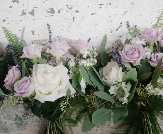 Beautiful informal Summer Wedding Flowers Bristol UK