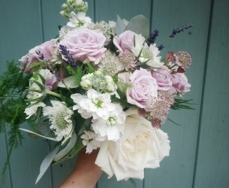 Beautiful Summer Bridesmaids Wedding Flowers Bristol UK