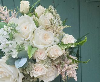 Beautiful Summer Wedding Bridal bouquet Bristol UK
