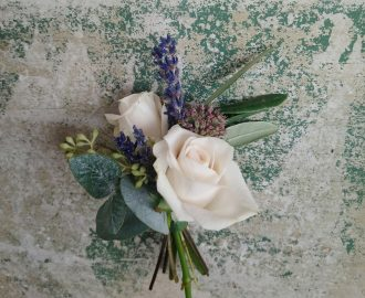 Beautiful SummerBoutonniere Wedding Flowers Bristol UK