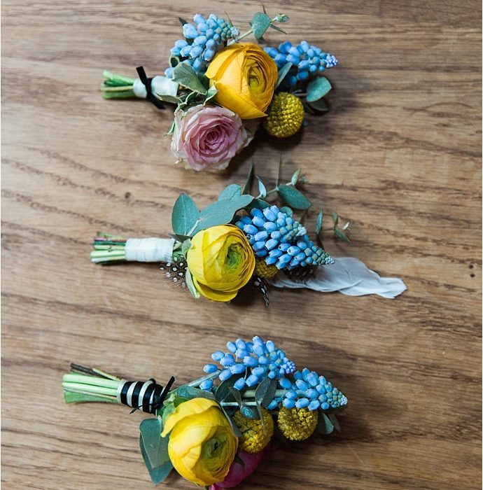 Stunning Colour Pop Spring Wedding Flowers Inspiration